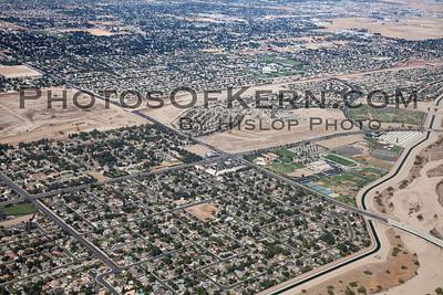 Aerial Stockdale Hwy and Allen