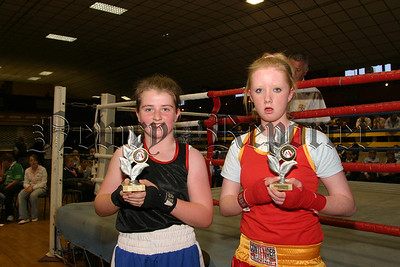 Coleen Quinn and Tayna Mc Aleenan fought a great exhibition bout, 06W27S19