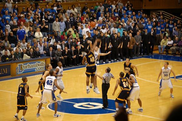2006-11-16 Duke Game - UNCG