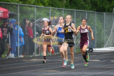 D3 Girls' 1600 Meter Run - 2015 MHSAA LP TF Finals