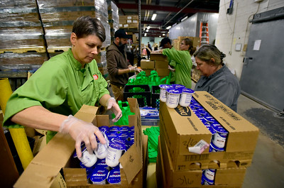 Photos: BVSD Emergency Food Supply for Local Residents