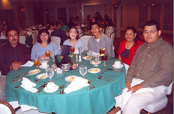 April 2000 HHS South Top 10 Percent Banquet at Country Club Seniors