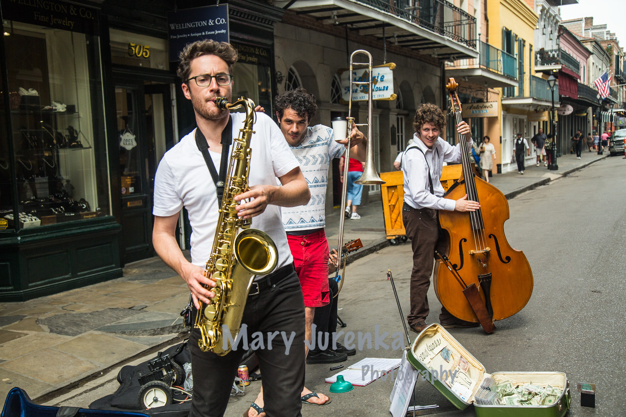 Music on Royal in New Orleans-March 2015