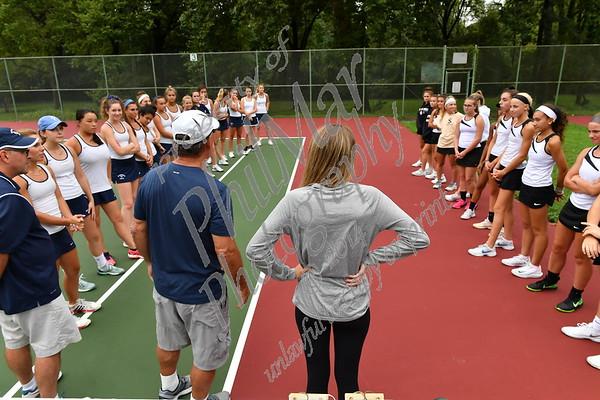 Wyomissing vs Berks Catholic Girls Htgh School Tennis 2018 - 2019