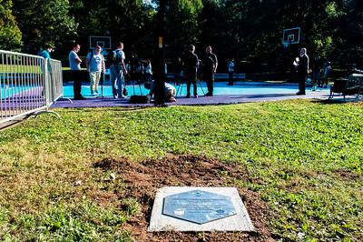 Hornets Legacy Project Dedication & Jr Clinic @ Latta Park 10-18-16 by Jon Strayhorn