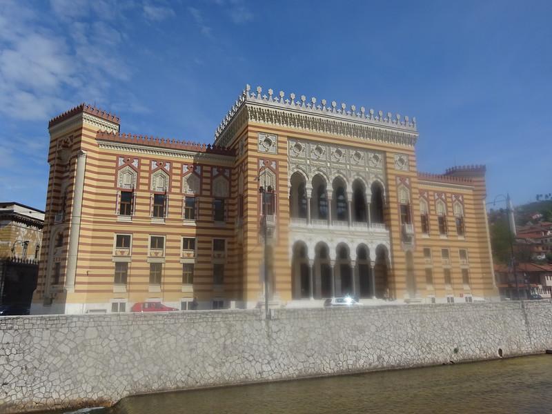 21_Sarajevo. City Hall. 1896. Pseudo-Moorish Architecture.JPG