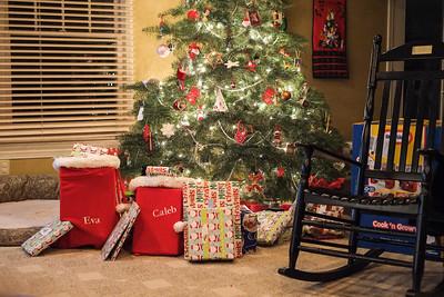 Christmas Morning at Home