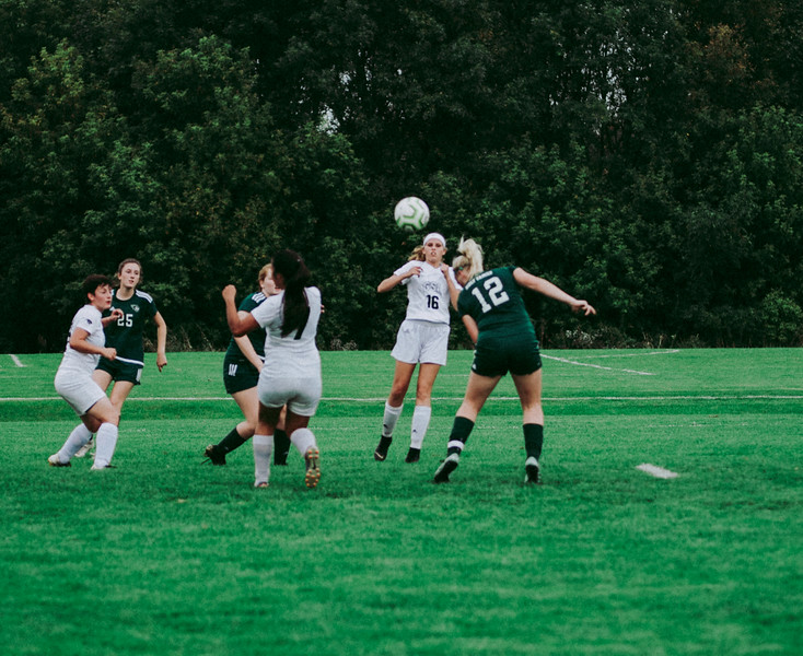 Holy Family Girls Varsity Soccer vs. Glencoe-Silver Lake, 9/24/19: Caitlin Rock '20 (12)