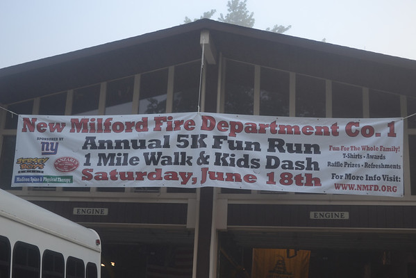 2nd Annual New Milford Fire Dept. Co 1 ~ 5K Fun Run & 1 Mile Family Walk