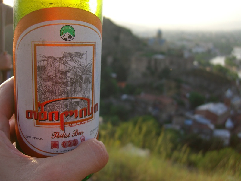 Georgian Beer - Tbilisi, Georgia