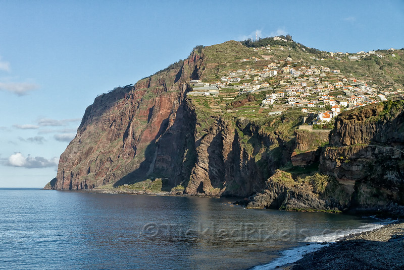 The Cliff Face of Cabo Girão