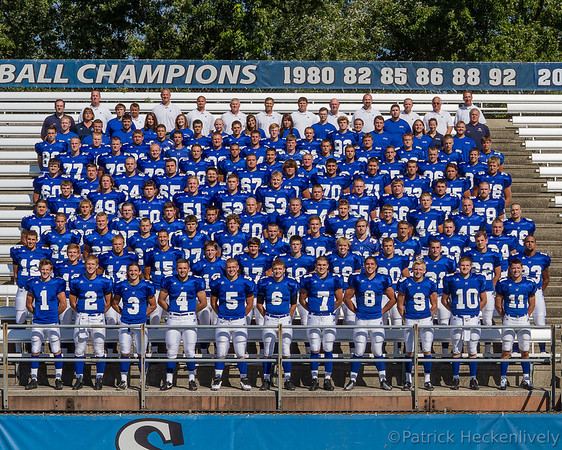 2012-08-22 Hillsdale College Men's Football Team Pictures