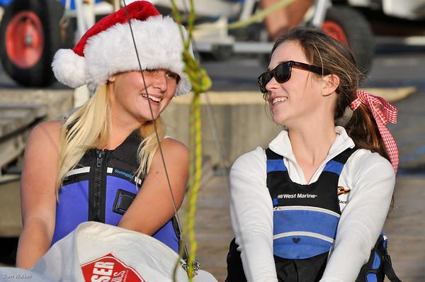 Portsmouth Folly Christmas Regatta Photographs