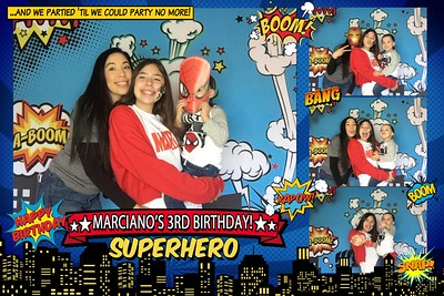 Marciano's 3rd Superhero Birthday