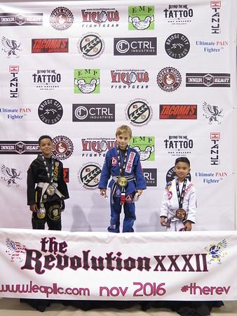 The Revolution XXXII - Youth Podium