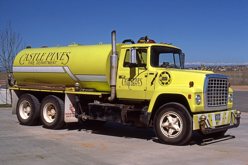 Castle Pines Fire Protection District Tender