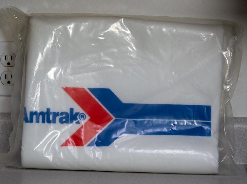 Amtrak Blanket