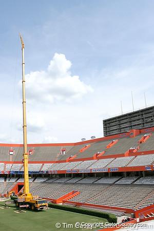 Photo Gallery: Ben Hill Griffin Stadium improvements, 5/7/09