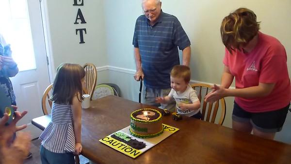 Gideon 2nd Birthday
