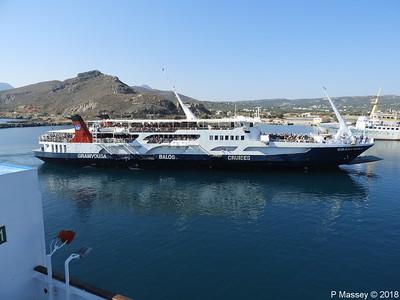 GRAMVOUSA Departing Kissamos 16 Sep 2018