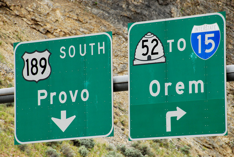 5/22/07 – Like I've said, my office is at the mouth of Provo Canyon. As you come out of the canyon you stay straight to go to Provo or right to go to Orem.