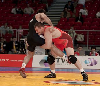 120 kg/264.5 lbs. – Tolly Thompson (Cedar Falls, Iowa/Sunkist Kids), 3rd place lost to Aydin Polatci of Turkey, 1-0, 0-1, 5-1
