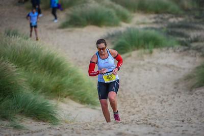 Superfeet Sandman Triathlon - Savage Run on Dunes Before Beach before 1:15pm