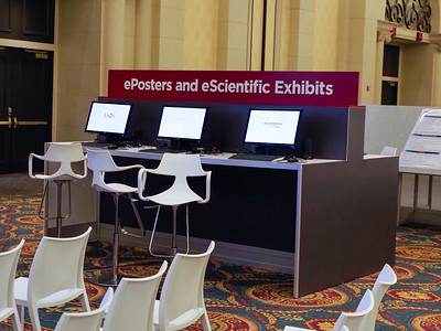 ePosters and eScientific Exhibits Station - E69