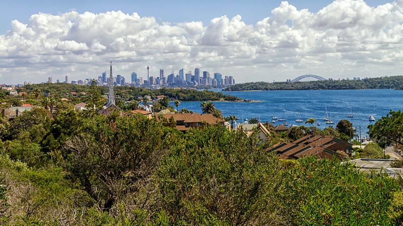 Sydney from the Gap