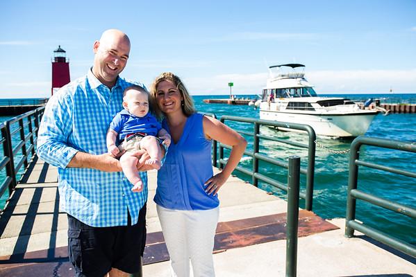 Charlevoix, Michigan Beach Family Photography