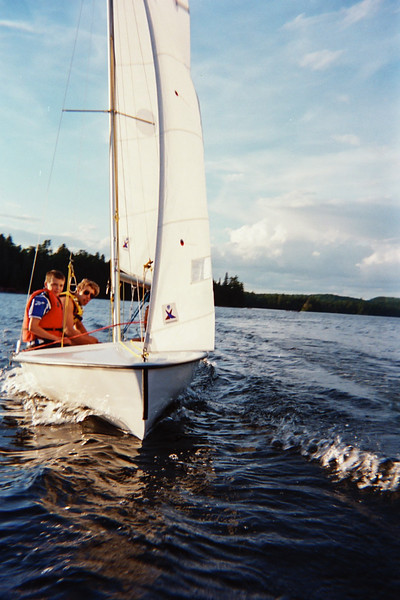 Perfect wind for sailing