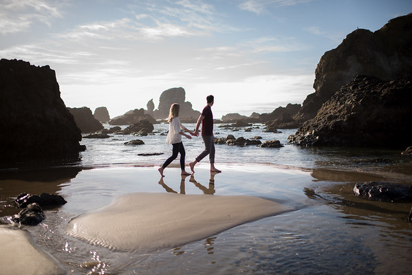 10/14/17 Hoyt & Cannon Beach Engagement