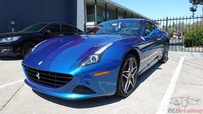 Ferrari California Blue