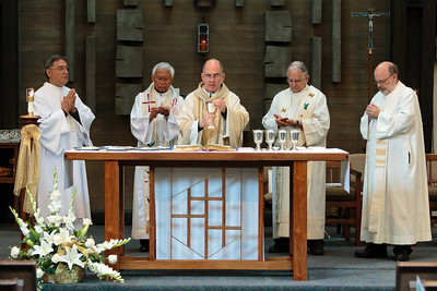 50th Anniversary Mass with Archbishop James Peter Sartain - June 15, 2014