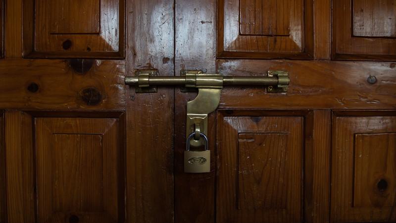 Door Lock - Dwarika's Hotel
