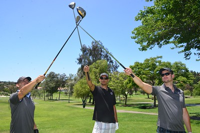 FIRST ANNUAL GOLF CLASSIC AND BANQUET: Golfer Shots