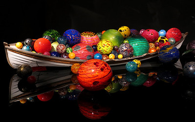 Chihuly Garden and Glass - August