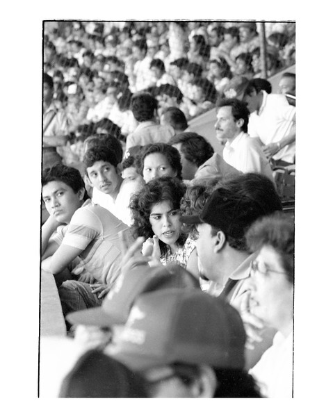 Murillo Rosario, The President's Wife, at Ball Game