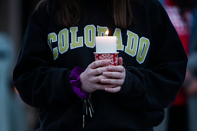 Photos: Vigil for victims of King Soopers mass shooting at Fairview High