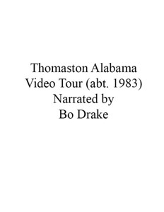 Thomaston Video circa 1983