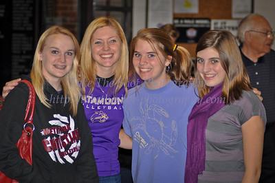 2011-10-07 WCU Volleyball @ Davidson