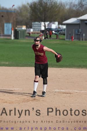 Softball JV vs Kimball May 10