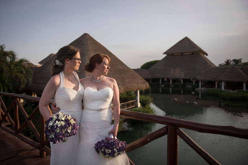 Jess + Laura - Wedding - Grand Palladium