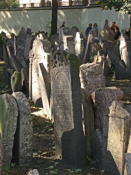Headstones, Old Jewish cemetery.