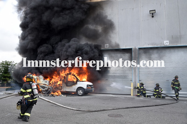 BETHPAGE FD TRUCK FIRE 7-8-2020