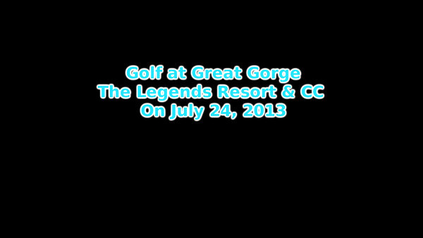 Great Gorge Golf - 07/24/13