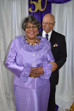Morris & Bernice 50th