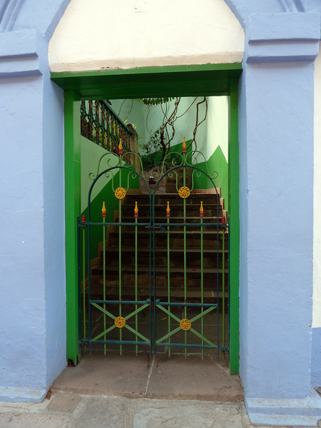 Cool gate in Creel.