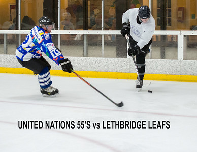 55A UN55 vs Lethbridge Leafs