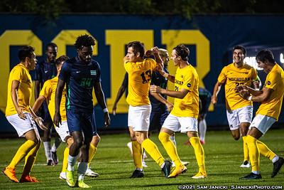 9-13-21 - Best of Michigan Men's Soccer Vs Chicago State